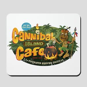 Cannibal Island Cafe Mousepad
