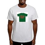 crazy cock t-shirt Ash Grey T-Shirt