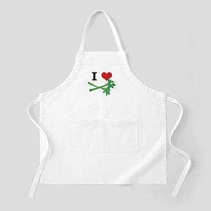 I Heart (Love) Celery Apron