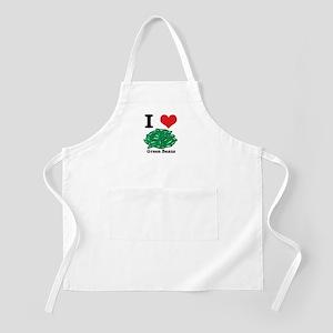 I Heart (Love) Green Beans Apron