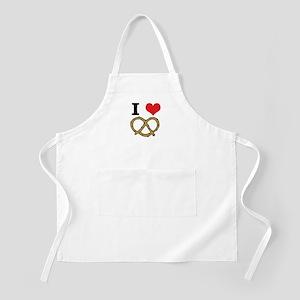 I Heart (Love) Pretzels Apron
