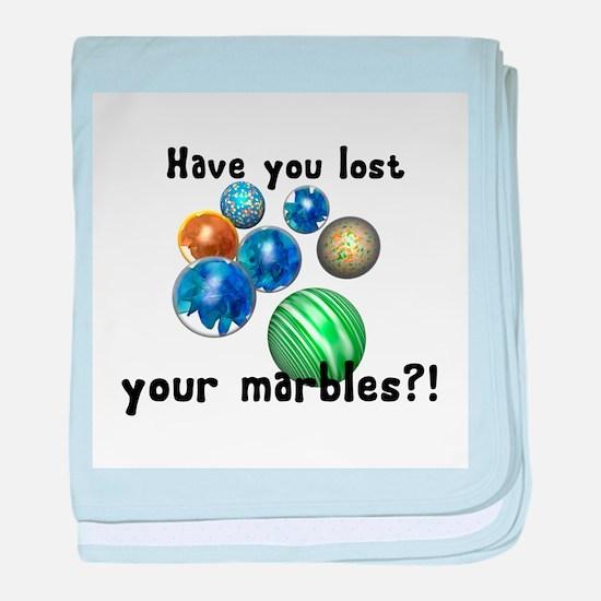 Lost Your Marbles Infant Blanket