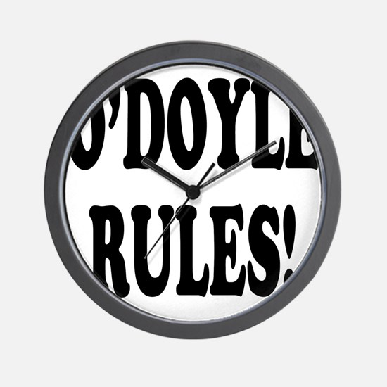 O'Doyle Rules! Wall Clock