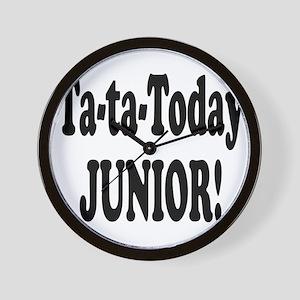 Ta-Ta-Today Junior! Wall Clock