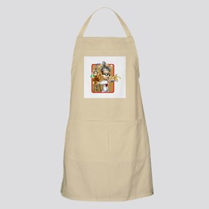 Funny Mad Scientist Monkey Ex Apron