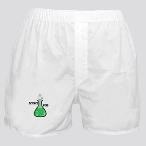 Science Nerd Boxer Shorts