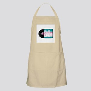 80s (Eighties) Music Record A Apron
