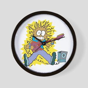 Funny Electric Guitar Design Wall Clock