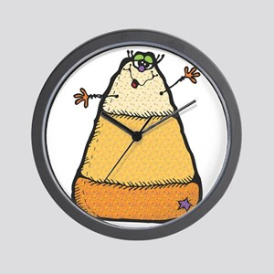 Silly Sweet Candy Corn Wall Clock