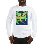 crazy cock t-shirt Long Sleeve T-Shirt
