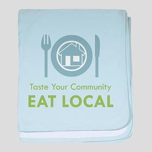 Taste Local Infant Blanket