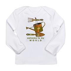 Garden Tools Long Sleeve Infant T-Shirt