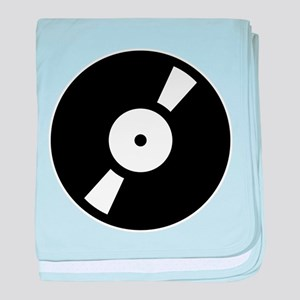 Retro Classic Vinyl Record Infant Blanket