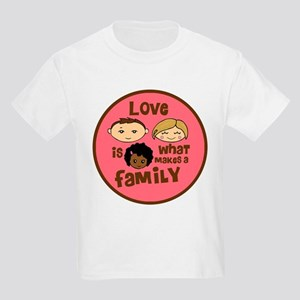 African/Caucasian GIRL Love Makes A Family Kids Li