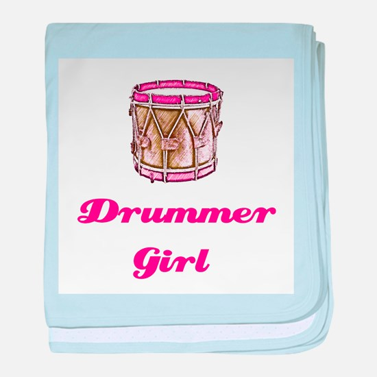 Drummer Girl Infant Blanket