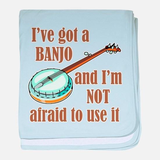 I've Got a Banjo Infant Blanket