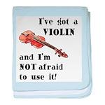 I've Got a Violin Infant Blanket