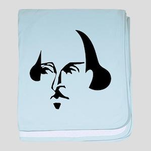 Simple Shakespeare Infant Blanket