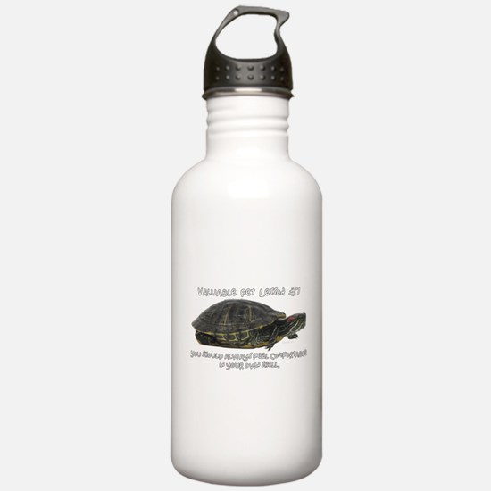 Valuable Pet Lesson #7 Water Bottle