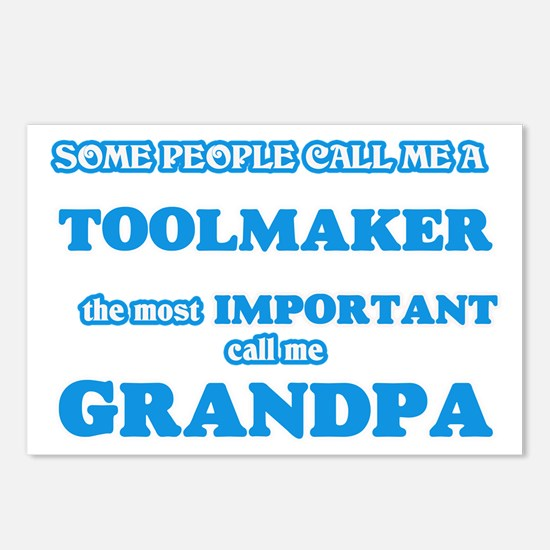 Some call me a Toolmaker, Postcards (Package of 8)