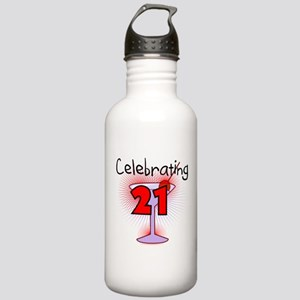 Cocktail Celebrating 21 Stainless Water Bottle 1.0