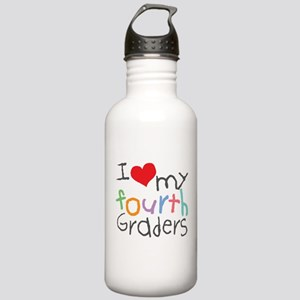 I Love My 4th Graders Stainless Water Bottle 1.0L