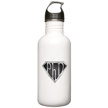 Super PhD - metal Stainless Water Bottle 1.0L