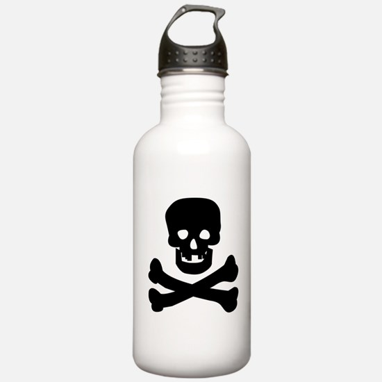 Skull n Crossed Bones Water Bottle