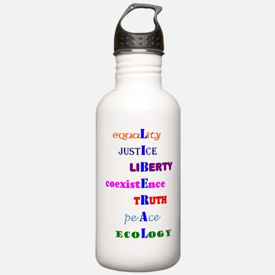 I am Liberal Water Bottle