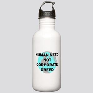 HUMAN NEED Stainless Water Bottle 1.0L