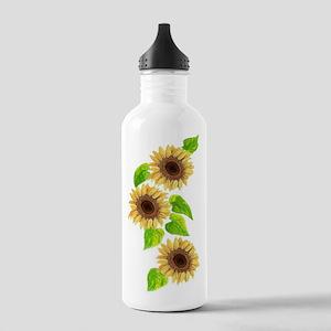 SUNFLOWER SEASON Stainless Water Bottle 1.0L