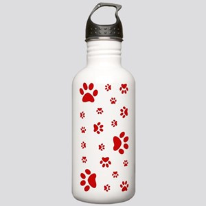 PAW PRINTS Stainless Water Bottle 1.0L