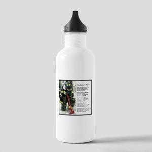 Old Version Firefighter Prayer Water Bottle 1 Stai