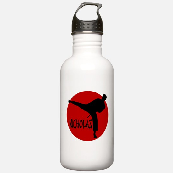 Nicholas Karate Water Bottle