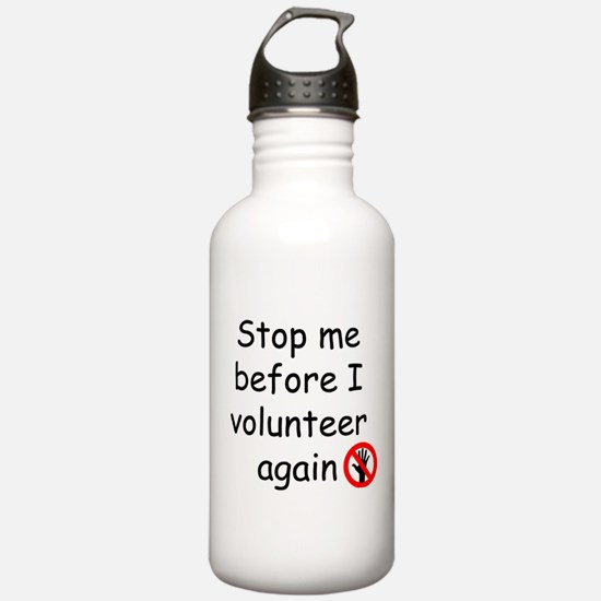 Cute Volunteer Water Bottle