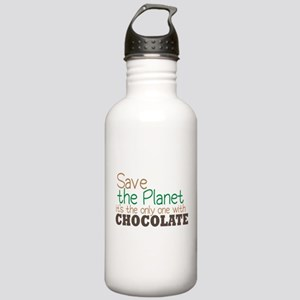 Only Planet with Chocolate Stainless Water Bottle