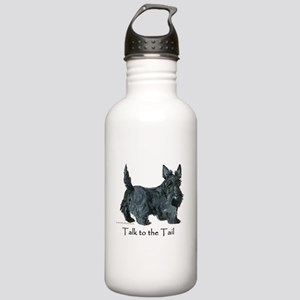 """Scottie """"Talk to the Tail"""" Stainless Water Bottle"""