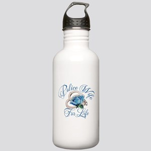 Police Wife For Life Stainless Water Bottle 1.0L