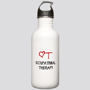 Occupational Therapy Heart Stainless Water Bottle