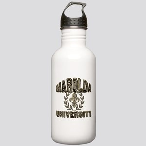 Marolda Last Name University Water Bottle 1.0 Stai