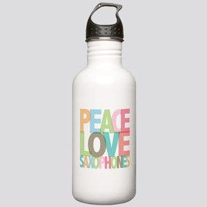 Peace Love Saxophones Stainless Water Bottle 1.0L