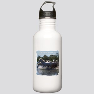 Horses w/ Proverb Stainless Water Bottle 1.0L