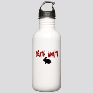Death Awaits - Rabbit Stainless Water Bottle 1.0L