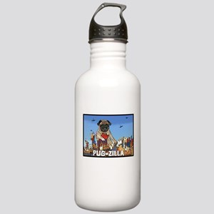 Pug-zilla Stainless Water Bottle 1.0L