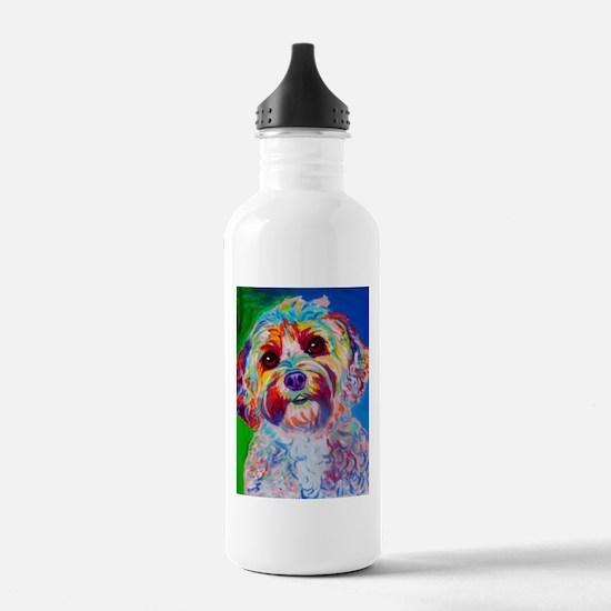 Cute Cockapoo Water Bottle