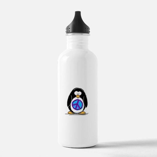 Peace penguin Water Bottle