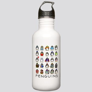 Lots of Penguins Stainless Water Bottle 1.0L