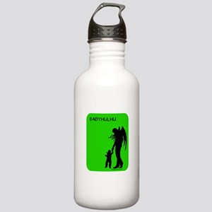 Dadthulhu, Cthulhu father Stainless Water Bottle 1