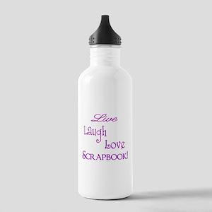 LiveLaughLoveScrapbook Stainless Water Bottle 1.0L