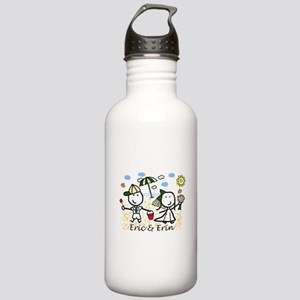 Wedding - Eric & Erin Stainless Water Bottle 1.0L